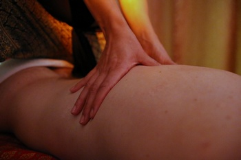 massage thai huiles